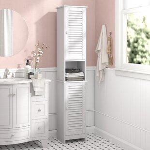 Vida Liano 32 x 170cm Free Standing Tall Bathroom Cabinet