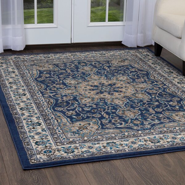 Arend Blue Ivory Area Rug Reviews Birch Lane