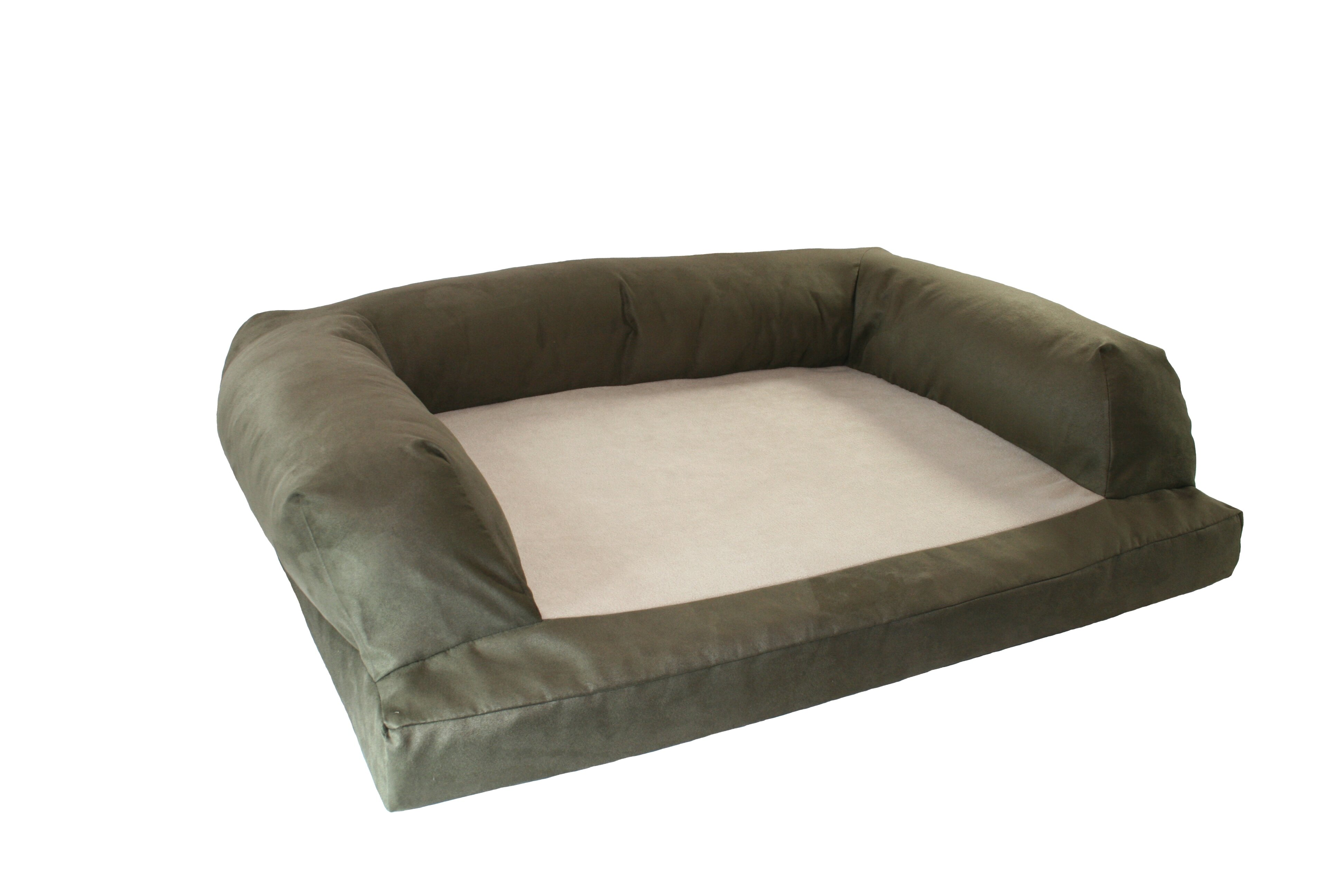 Hidden valley products baxter couch bolster dog bed wayfair for Couch polster