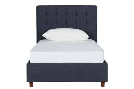 detailed look 01683 d76cd Wade Logan Littrell Upholstered Platform Bed