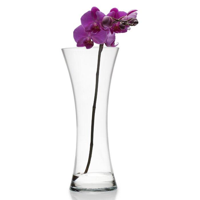 Mikasa Hourglass Glass Vase Wayfair