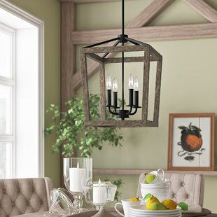 Natarsha 4 Light Lantern Pendant