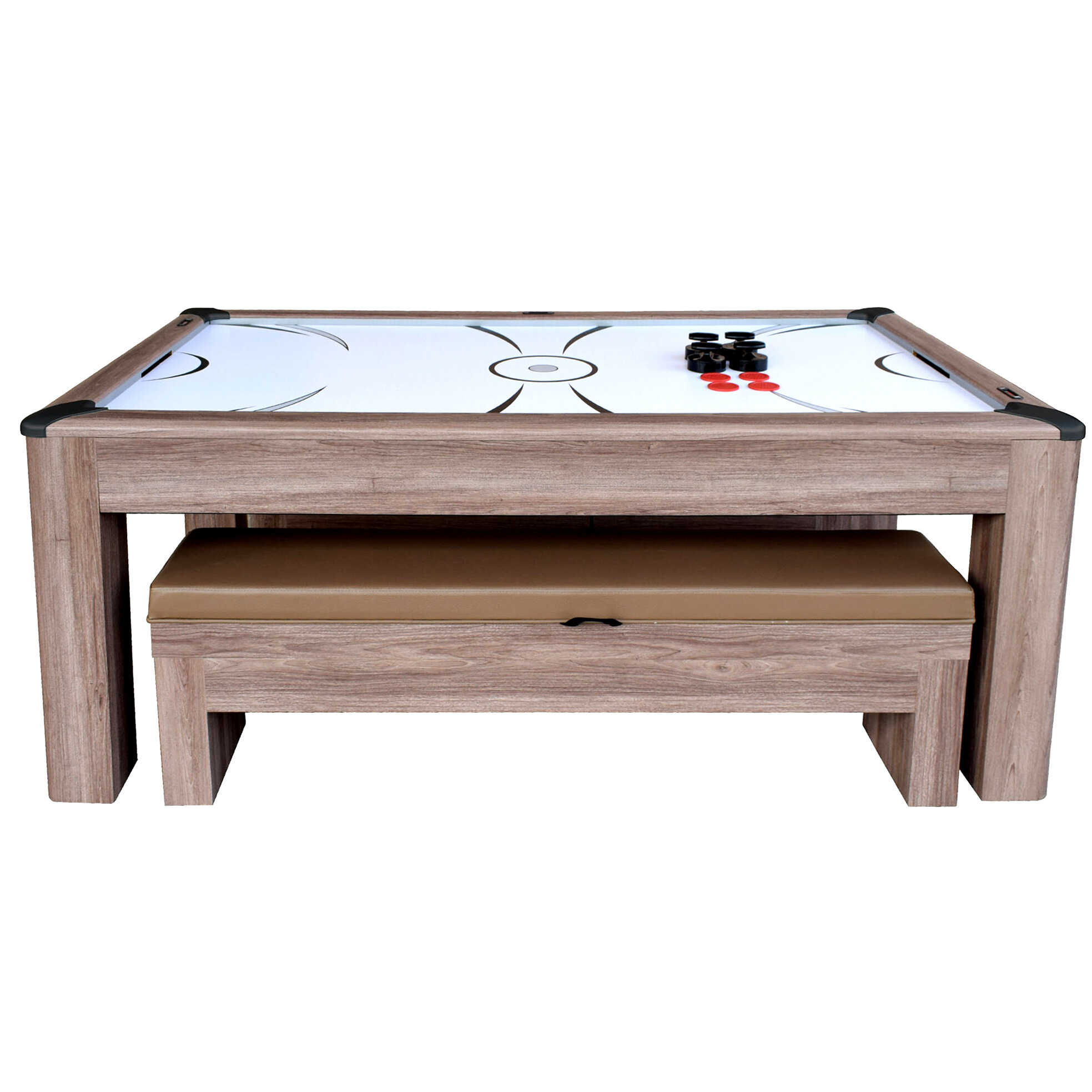 Delicieux Driftwood Air Hockey Table