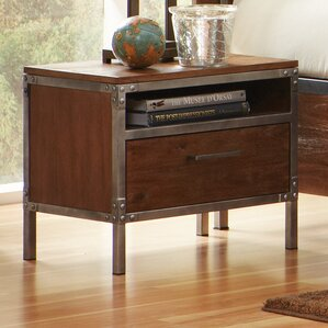 Narrow Nightstand narrow nightstand with drawers | wayfair