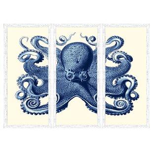 navy blue wall art canvas wayfair