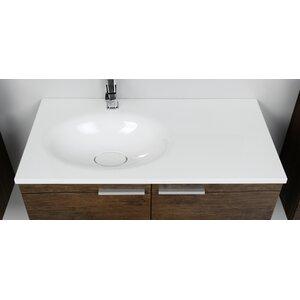Belfry Bathroom 91 cm Aufsatzwaschbecken Aichilik