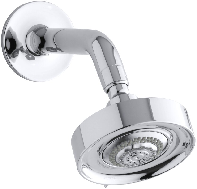 Kohler Purist 2.5 GPM Multifunction Wall-Mount Shower Head ...