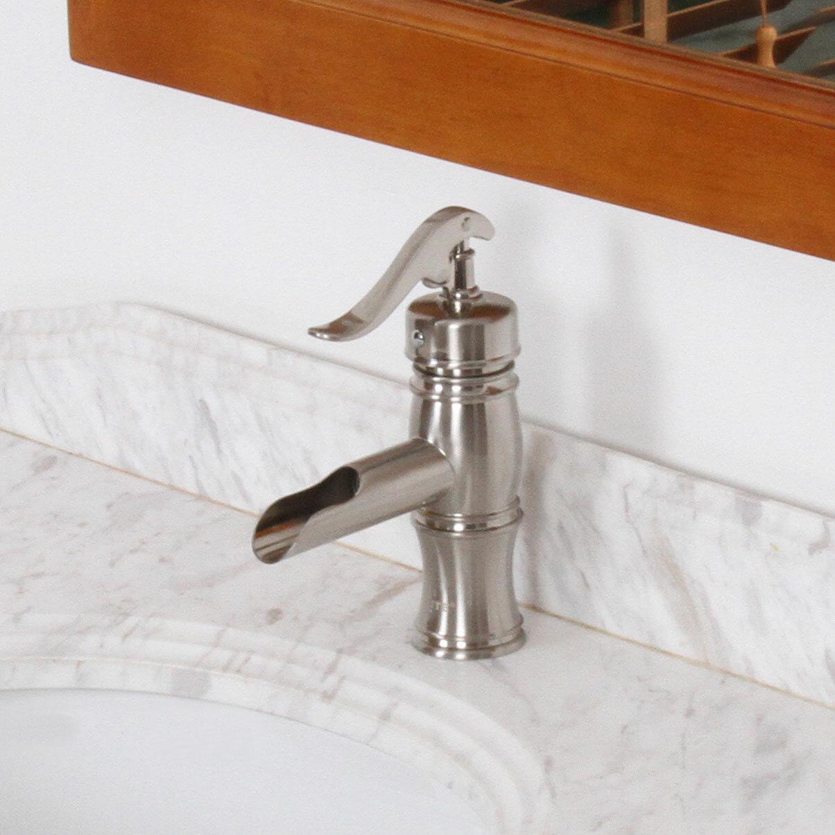 Elite Vintage Single Handle Bathroom Water Pump Faucet & Reviews ...