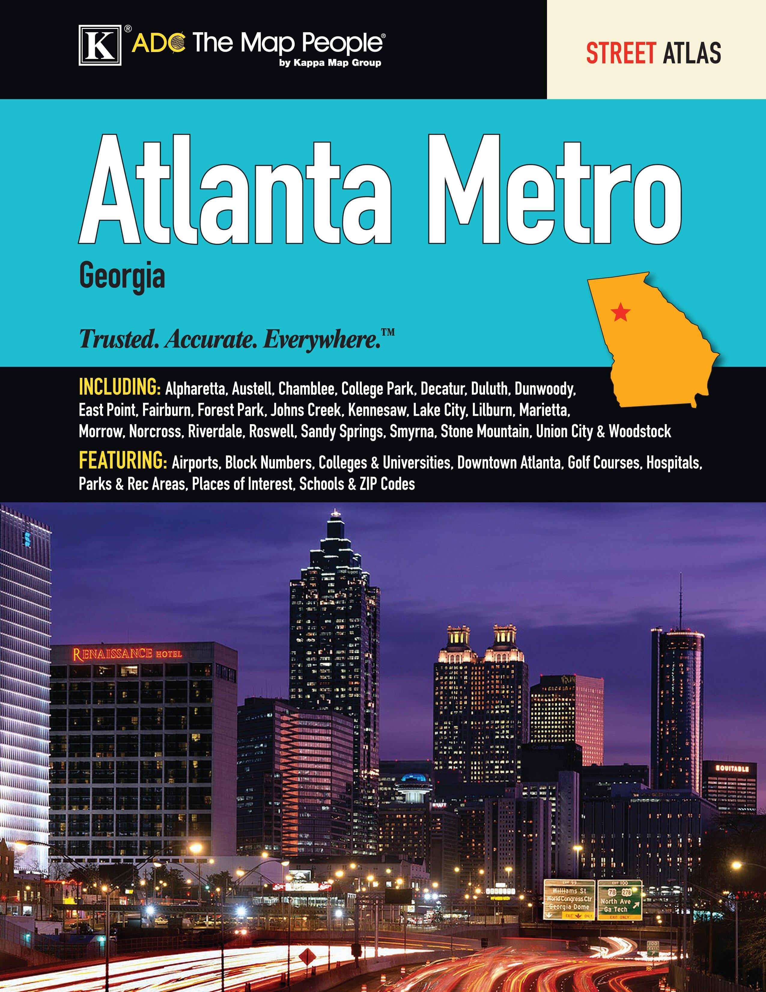View Marvelous Metro Storage Sandy Springs #24   Universal Map Atlanta Metro  Atlas | Wayfair ...