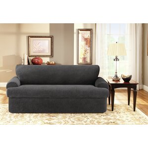 T-Cushion Sofa Slipcover S..