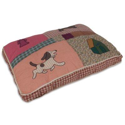 Aspen Pet Quilted Novelty Gusseted Dog Pillow Aspen Pet