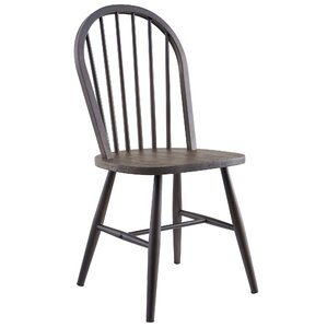 Landreneau Solid Wood/Metal Dining Chair (Set of 2) by Alcott Hill