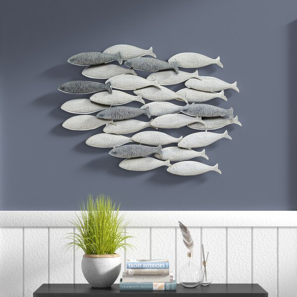 School Of Fish Wall Decor Wayfair