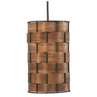 wood pendant lighting. Grimes 1-Light Mini Pendant Wood Lighting
