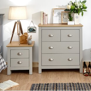 chloe 4 drawer chest - Painted Bedroom Furniture