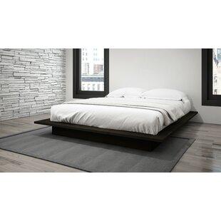 white modern platform bed. Save To Idea Board White Modern Platform Bed H