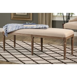 Osterhout Upholstered Bench by One Allium Way