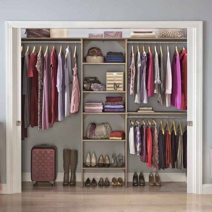 tower natural kitchen starter inch com gray kit home suitesymphony amazon dp closet closetmaid maid