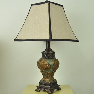 Kyler Vintage Asian Style 21 Table Lamp