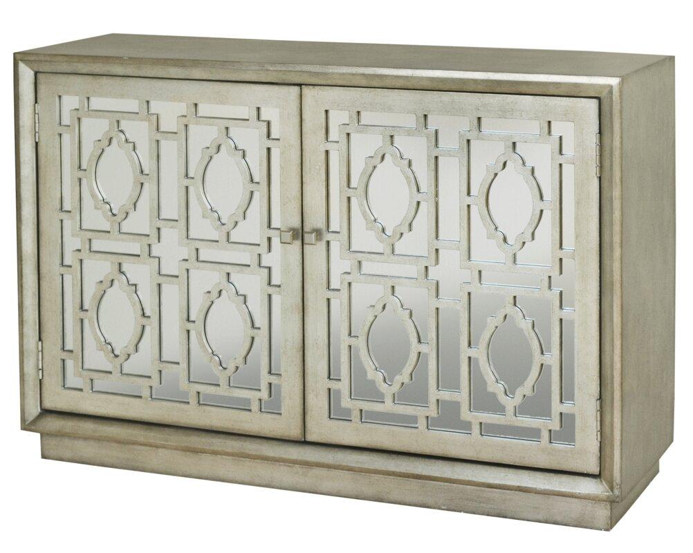 Marvelous Cheval 2 Door Credenza Accent Cabinet
