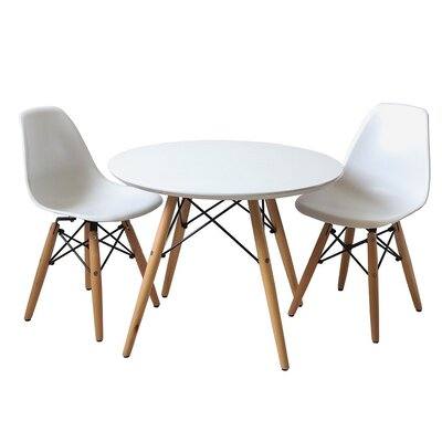 Best KidKraft Kid's 3 Piece Round Table and Chair Set & Reviews | Wayfair EH68