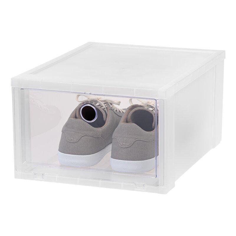 Superieur Wide Stackable 1 Pair Shoe Storage Box