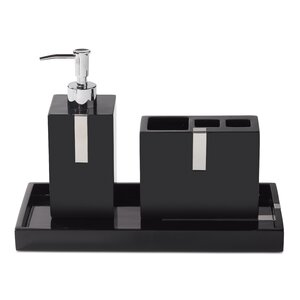 Houston Street 3-Piece Bathroom Accessory Set