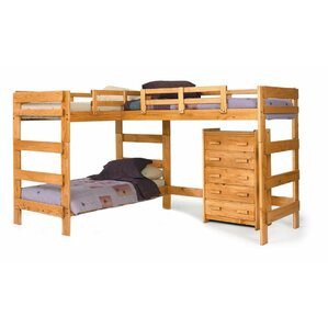 Deondre L-Shaped Bunk Bed by Viv + Rae