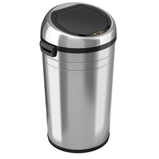Stainless Steel 23 Gallon Motion Sensor Trash Can