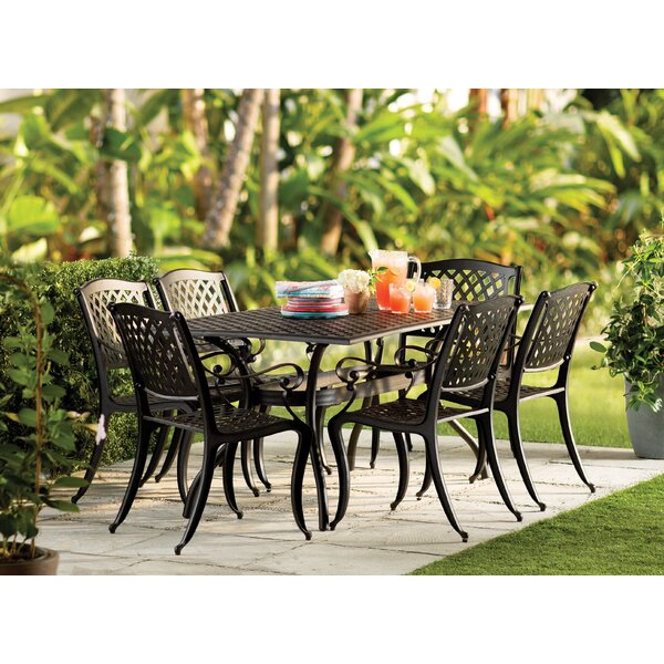 Alcott Hill Castle Heights 7 Piece Dining Set U0026 Reviews | Wayfair