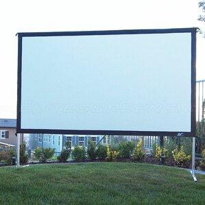 yardmaster2 grey portable projection screen