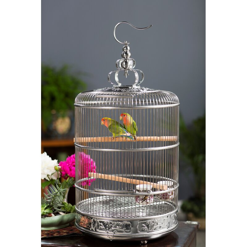 Prevue Hendryx Pet Empress 30 Quot Bird Cage With Removable Tray Amp Reviews