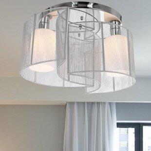 ceiling flush lights wayfair co uk