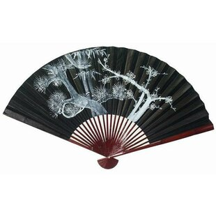 Decorative Oriental Fan Wall Décor