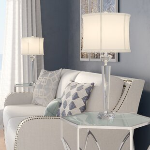 57e8c6f218d4 Glass & Clear Table Lamps You'll Love in 2019 | Wayfair