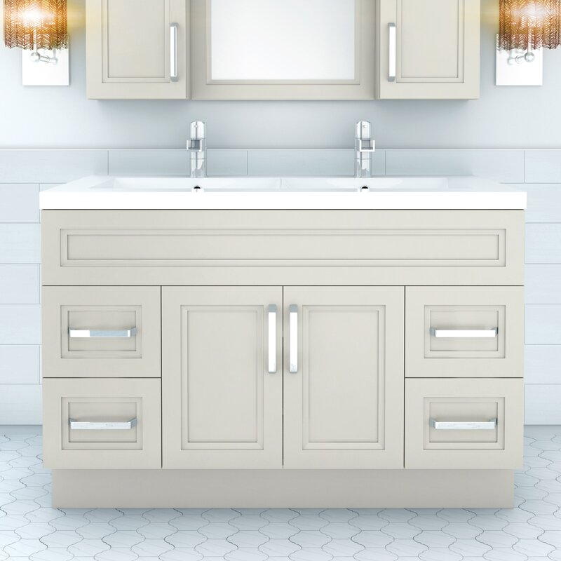 "Cutler Kitchen & Bath Urban 48"" Vanity Double Bowl ..."