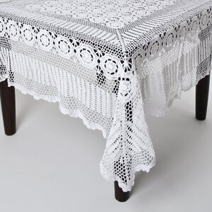 Cavaillon Crochet Lace Rectangle Table Cloth