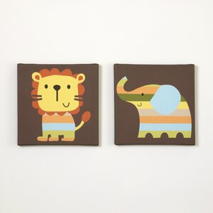 ZuZu & Friends 2 Piece Canvas Art Set