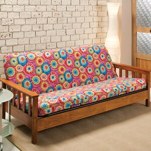 Patterned Box Cushion Futo..