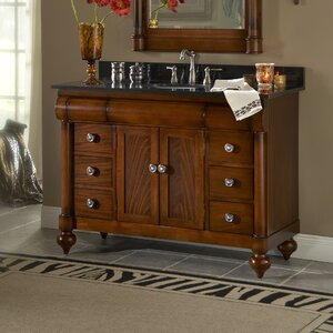 John Adams 48 Single Bathroom Vanity Set