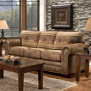 Wild Horses Sleeper Sofa by American Furniture Classics