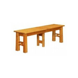 Brentwood Wood Bench by Conrad Grebel