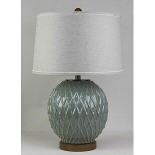 White Ceramic Lattice Lamp Wayfair