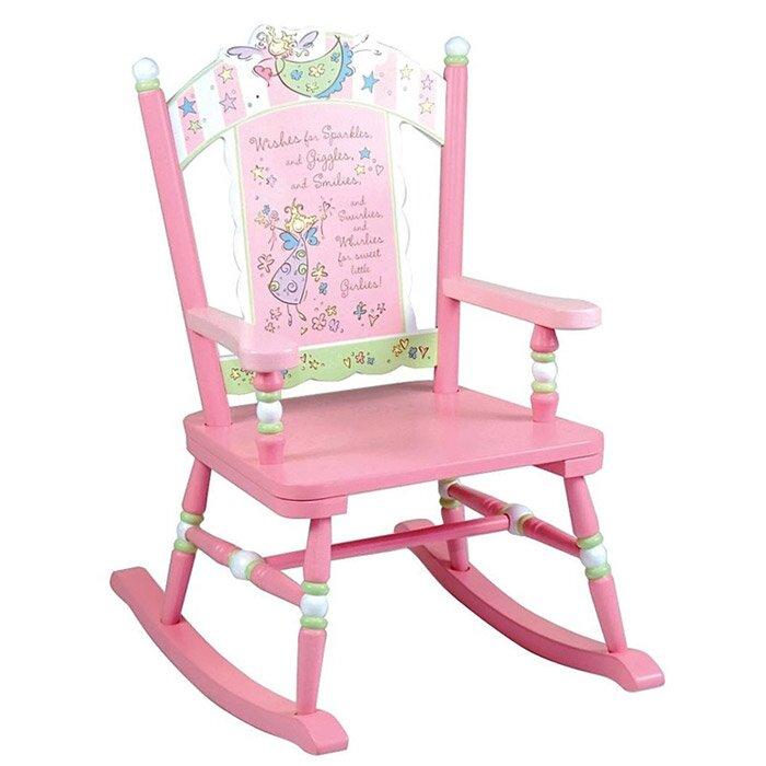 Wildkin Kids Fairy Wishes Rocking Chair