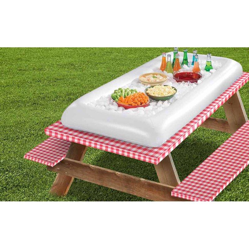 Freeport Park Alaina Inflatable Cooler Reviews Wayfair - Inflatable picnic table