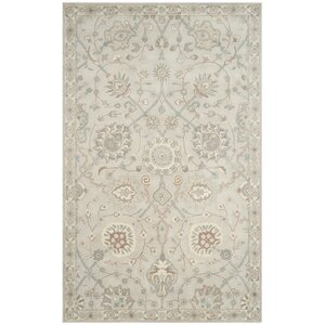 Buy Moss Hand Tufted Wool Gray Area Rug!
