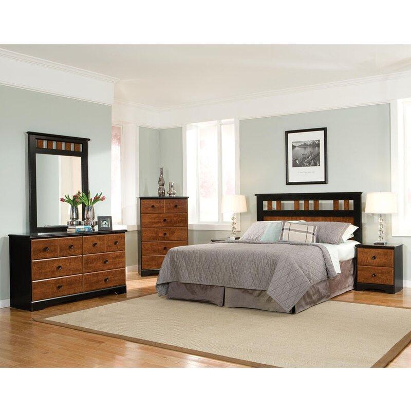 Attractive Postma Queen Panel 5 Piece Bedroom Set