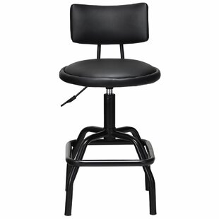 Hetrick Adjustable Height Swivel Bar Stool