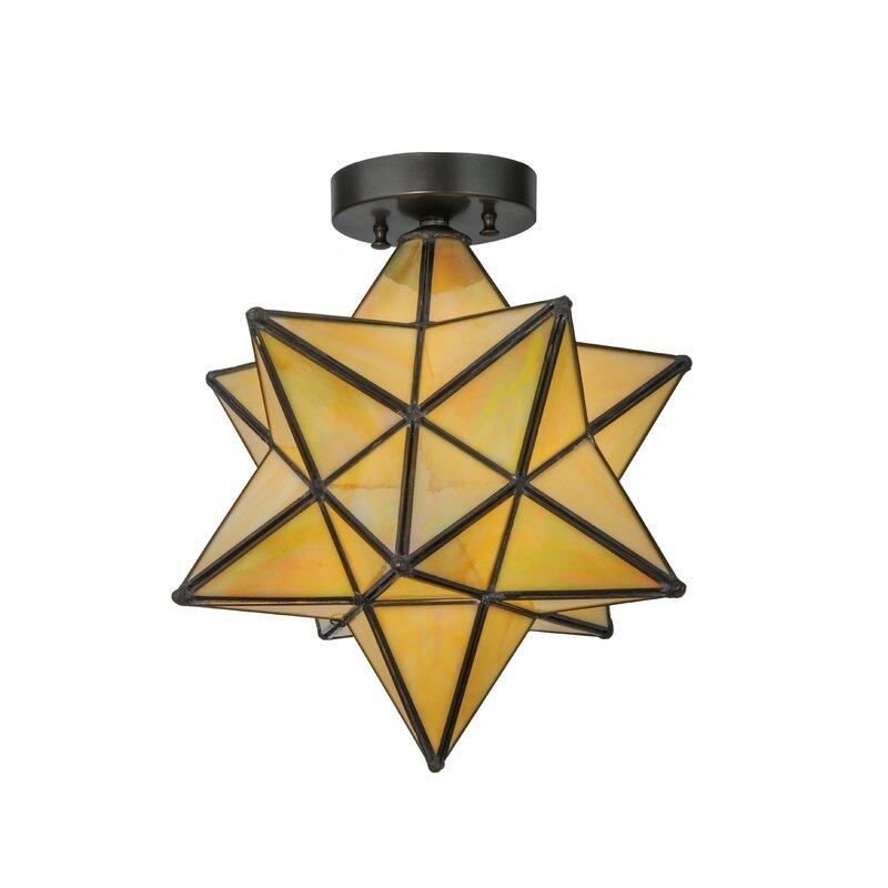 Moravian Star 1 Light Flush Mount Amp Reviews Allmodern