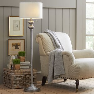 Cumberland 58 5  Floor LampFloor Lamps You ll Love   Wayfair. Floor Lamps In Living Room. Home Design Ideas
